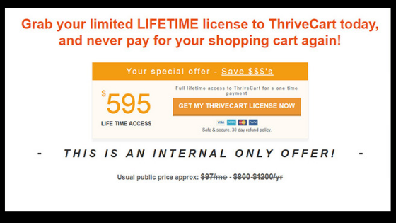 double sales with thrivecart